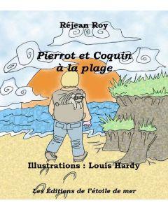 Pierrot et Coquin à la plage