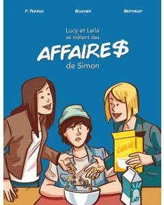 Lucy et Leila se mêlent des AFFAIRE$ de Simon